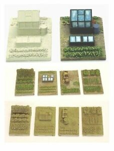 N Scale Allotment or Gardens (NS9 & NS2)