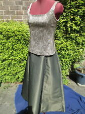 """""""EVENINGWEAR"""" SPECIAL OCCASION/PROM-LONG BALL SKIRT & BODICE TOP-WORN ONCE-10/12"""