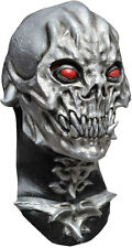 plata máscara de Alien & Cuello Robot Calavera látex CINE TV TERROR COMPLETO