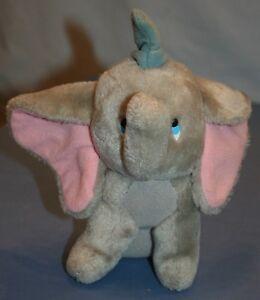 Vtg Walt Disney Productions Dumbo W.D.P Plush Stuffed Animal Elephant