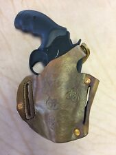 Smith & Wesson Governor OWB R/H & LH Zombie Custom Carving Leather