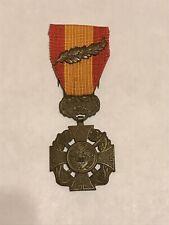 Vietnamese Made Us/American Republic of Vietnam Gallantry Cross w/Palm - Medal