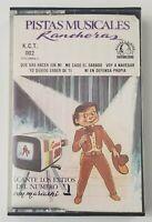 Pistas Musicales Rancheras Cassette Tape