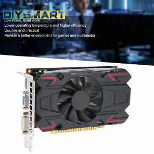 4GB Gaming Graphics Card 128Bit DDR5 650MHz 1000MHz PCI Express3.0 Slot AU