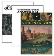 Notgrass Exploring World History Student Review Pack with Quiz & Test Book 2014