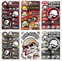 New Metal Mulisha Stickers MX Dirt Bike Skate ATV Racing Waterproof Vinyl Decal