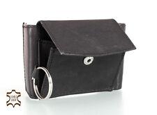 Mini Portemonnaie Geldbörse - Mini Geldscheintasche aus echtem Leder - B04