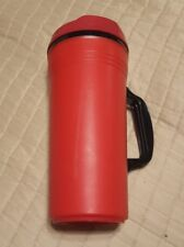 1-pcs Vintage 28oz Aladdin Insulated Travel Mug Cup/Lid (not prefect) TALL RED