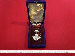 Rarebookkyoto military exploits seventh class medal with a summary order silver