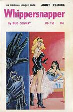 Vintage Sleaze PB Paperback - Whippersnapper - Eric Stanton Lesbian Unique Book