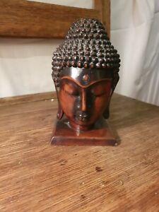 Decorative Resin Buddha Head Figure Very Decorative