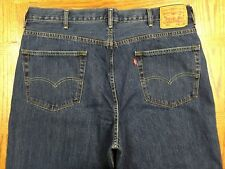 LEVIS 550 RELAXED FIT CLASSIC MENS JEANS HAND MEASURED 40x32 Tag 42x32 BEST G67u
