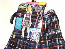 Child Girls MONSTER HIGH FRANKIE STEIN Large 10-12 Halloween Costume Dress Up