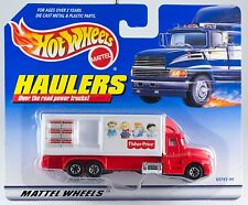 Hot Wheels Haulers Fisher-Price Truck New On Card 1998