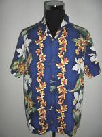 MD fashion vintage Hawaii Hemd hawaiihemd surf shirt 90s surfer made USA L