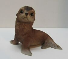 Seal Pup Sea Lion Figurine Marked Rj Brown 1978