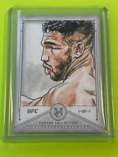 2019 Topps UFC Museum Canvas Collection KEVIN LEE Sketch Card #1/1