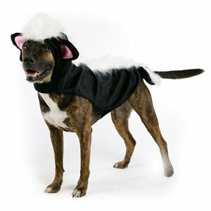 Skunk Halloween Dog Pet Costume X-Small (New w/Tags)