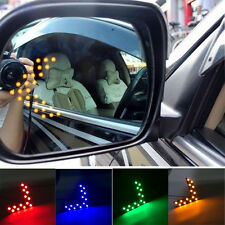 14 SMD LED Arrow Panel For Car Rear View Mirror Indicator Turn Signal Light