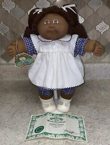Vintage 1983 African American Cabbage Patch Doll in excellent condition