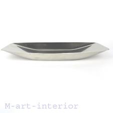 WMF Design Wilhelm Wagenfeld Brotschale Cromargan Schale Post Bauhaus bread bowl