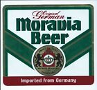 Vintage 1980s Moravia Beer Decal - G. Heileman Brewing Co. - Sticker -1986