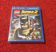 LEGO Batman 2: DC Super Heroes (PS Vita) Brand New