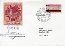 Schiffspost U 17 - Kieler Woche 1977