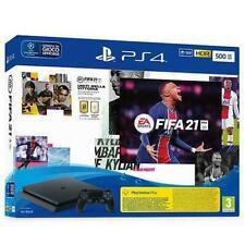 SONY PS4 500 GB SLIM BLACK + FIFA 21 PLAYSTATION NEW FIFA 21
