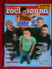 rivista ROCK SOUND 30/2000 POSTER Muse Linea 77 Placebo Radiohead Soulfly No cd