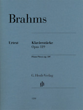 Henle Urtext Brahms Piano Pieces Op. 119 Revised Edition