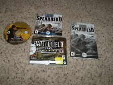 Medal of Honor Allied Assault Spearhead Expansion Pack (PC, 2002) key & manual