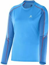 Salomon Trail Runner Women's Long Sleeve Running T-Shirt Size Large - 14