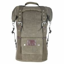 Oxford Heritage Waterproof Vintage With Modern Technology Backpack Khaki 30L