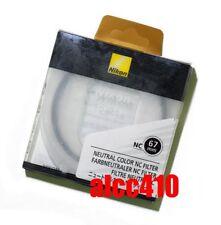 Genuine Nikon 67mm Neutral Color NC Filter -