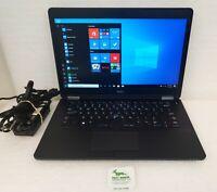 "Dell Latitude 7470 14"" FHD Laptop Intel i5-6300U 2.4Ghz 8GB 120GB SSD WIN 10 PRO"