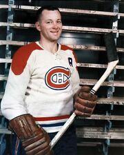 Doug Harvey Montreal Canadiens 8x10 Photo