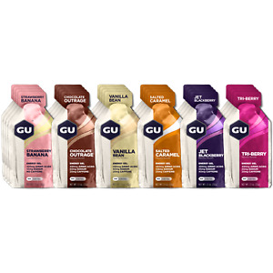 GU Energy Original Sports Nutrition Energy Gel Assorted Flavors 24-Count FREE SH