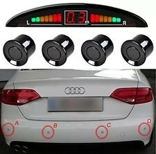Car Van Reversing Sensor Reverse Backup Parking LED Display Buzzer Alarm Kit UK