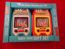 Sonic the Hedgehog Sega Bath Time Gift Set Bubble Bath & Shampoo **UNUSED**