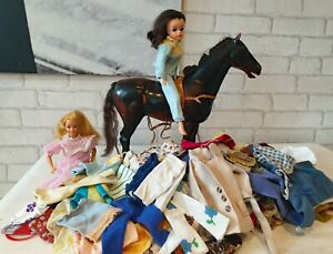 JOB LOT Sindy Barbie Horse Vintage Clothing 1970's 80's Clothes TLC Dress BSC213