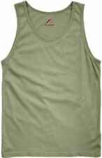 OD GREEN OLIVE DRAB ROTHCO 6701 MENS TANK TOPS ARMY CAMO GREEN T-SHIRT S TO 3X