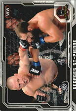 (2) George St Pierre 2014 Topps UFC Champions # 100 GSP