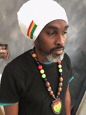 Rasta Turban Rasta tam white Turban Locsoc man turban white Rasta hat