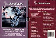 DIVINOINVINO (Corso di Degustazione) -  Cofanetto 4DVD,  NUOVO E SIGILLATO