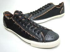 Converse All Star Ox Sneakers 100208 Black Multi US Sz Mens 8.5/Wo's 10.5 Medium