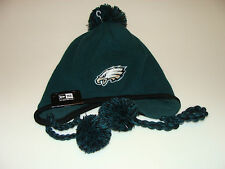 2012/13 Philadelphia Eagles NFL Football New Era Tassle Knit Toque Beanie OSFM