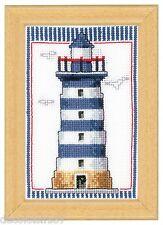 Vervaco Kit Broderie Point de Croix Compté Le Phare 8 x 12 cm PN-0144661