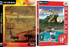 the pirate treasures & port royale 2    new&sealed