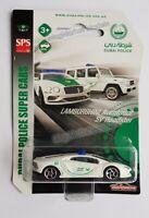 MAJORETTE LAMBORGHINI AVENTADOR SV DUBAI POLICE SUPER CARS SV **NEW & BOXED**